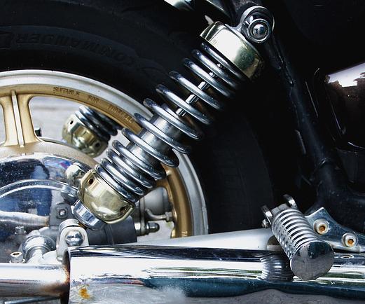 Motorrad Feder